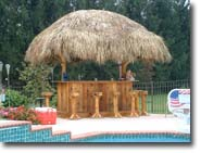 Use tiki bar plans to build your own tiki bar and save money