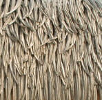 Picture of Dura-Thatch an artificial that you can use for builidng your tiki hut or tiki bar.