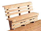 Popular wooden project build wooden deck benches for How do you build a deck yourself