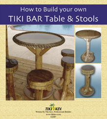 Building Tiki Bar Stools