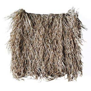 A thatch panel you can use for your tiki bar