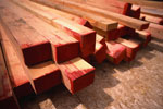 A picture of raw lumber, get ready to build your dream deck.